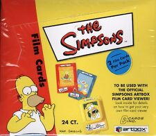 THE SIMPSONS FILM CARDS (ARTBOX) 10 BOX CASE BLOWOUT CARDS