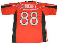 JEREMY SHOCKEY AUTOGRAPHED SIGNED MIAMI HURRICANES #88 ORANGE JERSEY JSA
