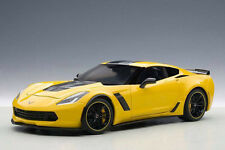 Autoart Chevrolet Corvette C7 Z06 C7R 1:18 Model Car Racing Yellow 71260