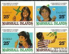 Marshall-Islands 280-283 block of four unmounted mint / never hinged 1990 Kids G