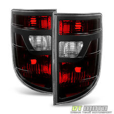 Black Tinted 2006-2008 Honda Ridgeline Tail Lights Lamp Taillights Taillamp Pair