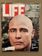 Life - June 1979 - Marlon Brando in Apocalypse Now - Movie about Vietnam