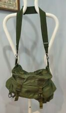 US Army Military M-17 Tri-Fold Medical Instrument & Supply Set Case Bag Green