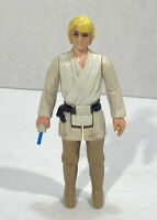 VINTAGE STAR WARS LUKE SKYWALKER BLUE LIGHTSABER KENNER ACTION FIGURE 1977 Nice