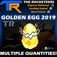 [PS4/PSN] Rocket League Golden EGG 2019 Multiple Quantities Limited Radical