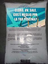 SALE PER GENERATORE DI CLORO INTEX SALE PER IL TRATTAMENTO DELLA PISCINA !!!