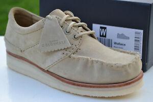 Clarks Originals BNIB Mens Shoes WALLACE Maple Suede UK 7 / 41