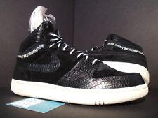 2005 Nike Dunk Air COURT FORCE HI STUSSY 1 SB BLACK SAIL WHITE 312270-001 NEW 11