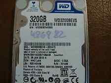 """Western Digital WD3200BEVS-00VAT0 DCM:HHCTJAN 320gb Sata 2.5"""" Hard Drive"""