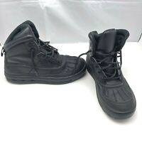 Nike ACG Woodside 2 High Triple Black Hight Top Boots Youth Size 7Y Womens 9