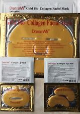 DreamMi (10+10+10+10 ) Gold Facial Mask + Lip Mask + Eye Pad + Neck Mask
