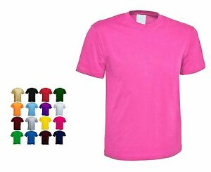 Ladies Classic Loose Fit Short Sleeve T Shirts Size 6 to 32 in 15 + Colours