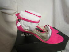LADIES PINK KITTEN HEEL SIZE 3