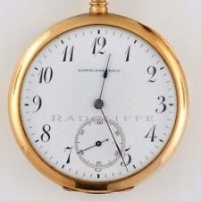 S. Kirk & Son 14kt Yellow Gold Open Face Antique Pocket Watch