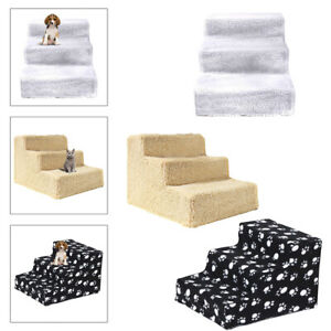 Pet Stairs 3 Non-slip Steps Dog Ladder Pet Ramp for High Bed Climbing Toys