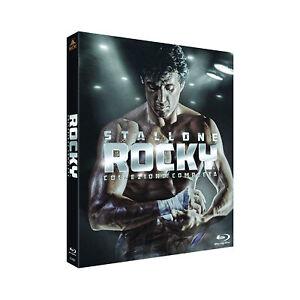 Rocky Balboa Saga Raccolta completa Collezione Cofanetto 6 Dischi Blu-Ray