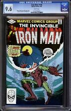 Iron Man 158 CGC 9.6, white pages, A++ cover wrap, Al Milgrom art