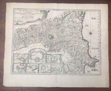 Carte De Fer LE ROUSSILLON C.1706
