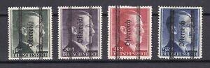 Austria - Steiermark - 1945 - Michel Nr. 693/696 II - Ungebr. - 275 Euro