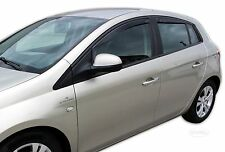 DFI15151  Wind Deflectors FIAT BRAVO 5-DOOR  2007-up 4 pcs HEKO Tinted