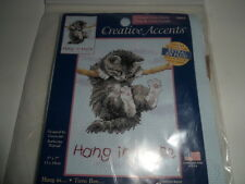 """Creative Circle #79003 """"Hang in There"""" Kitty 5"""" x 7"""" USA NEW"""