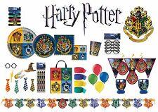 Harry Potter Gryffindor Hogwarts Wizard Happy Birthday tableware plates napkins  sc 1 st  eBay & Harry Potter Paper Party Tableware u0026 Serveware | eBay