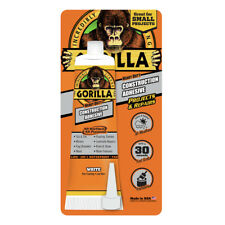 Gorilla HEAVY DUTY CONSTRUCTION ADHESIVE WHITE Fast Grab PAINTABLE In/Out-Door