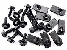 Ford Body Bolts & U-Nuts- M6-1.0mm x 20mm- 10mm Hex- Qty.10 ea.- #151