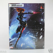 Marvel Universe Variant Play Arts Action Figure Kai Black Widow Toy Statue
