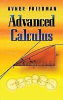 NEW Advanced Calculus (Dover Books on Mathematics) by Avner Friedman