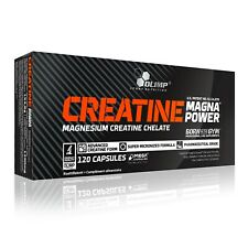OLIMP Creatine Magna Power 120 Capsules MAGNESIUM CHELATE, LEAN MUSCLE GROWTH