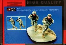 Hobby Fan 1/35 HF-702 US Stryker Brigade (III) O/F ACU Infantry - 2 Figures IOTV