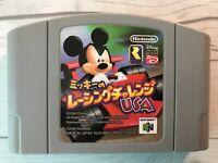 Mickey Racing Challenge USA Nintendo 64 N64 Used Very Good Japanese Ver. F/S