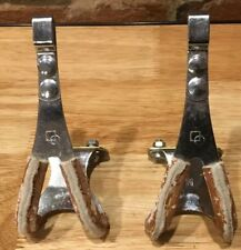Vintage KKT Japan M Bicycle ToeClips - Bike Pedal Toeclip