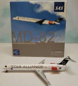 Dragon Wings 1:400 SAS Scandinavian MD-80 OY-KHE Star Alliance McDonnell Douglas