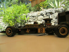 lotus ford type 72 d n° 8 EMERSON FITIPALDI JOHN PLAYER SPECIAL NOIRE 1/18 EXOTO