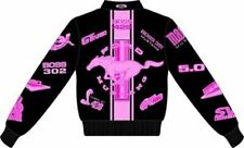 Gals Mustang Multi-Logo Jacket in Pink - Last Ones! FREE USA Shipping! SVT Mach
