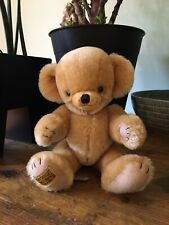 Merrythought Teddy Bear - Traditional Cheeky Bear With Bells In Ears