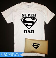 Super Dad T-Shirt with Packaging Superdad Superman Fathers Day Birthday Gift