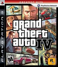 GRAND THEFT AUTO IV  (GREATEST HITS) (PS 3, 2008) (0113)       FREE SHIPPING USA