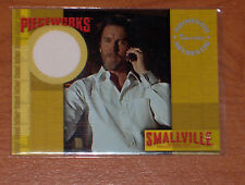 SMALLVILLE S.2 ULTRA RARE COSTUME CARD LIONEL LUTHOR PW7