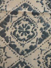 New listing Artisan Blue White ModernTable Runner 14x72 Boho Dresser Top Cotton
