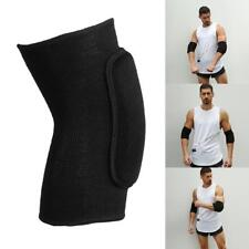 1pair Elbow Pads Elastic Elbow Knee Support Gear Sports Knitted Sponge Protector