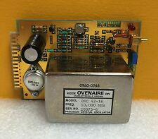 HP 0960-0568 / Ovenaire OSC 42-16 10 MHz Crystal Oscillator + 03586-66516 Board.