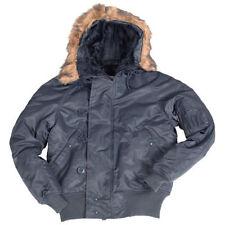 Abrigos y chaquetas de hombre parka azul