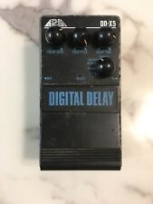 Aria DD-X5 Digital Delay 4-Modes Rare Vintage Guitar Effect Pedal MIJ Japan