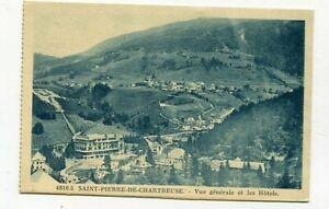 D16424 Saint-Pierre-de-Chartreuse Vue Générale & Hôtels Postcard France 1932