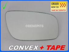 Wing Mirror Glass For MERCEDES E-Class W211 CONVEX +TAPE 2006 + Right /E025 186
