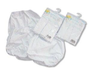 Pack of 3 Baby Waterproof PVC Pants