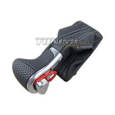 For Audi Original S-LINE DSG Hole Leather Gear Knob Gearshift Aluminum